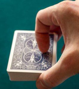 position de la coupe (Biddle) (vu manipulateur)